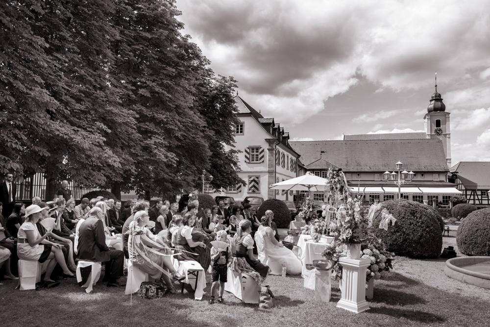 Hochzeit auf dem Landgut Schloss Michelfeld